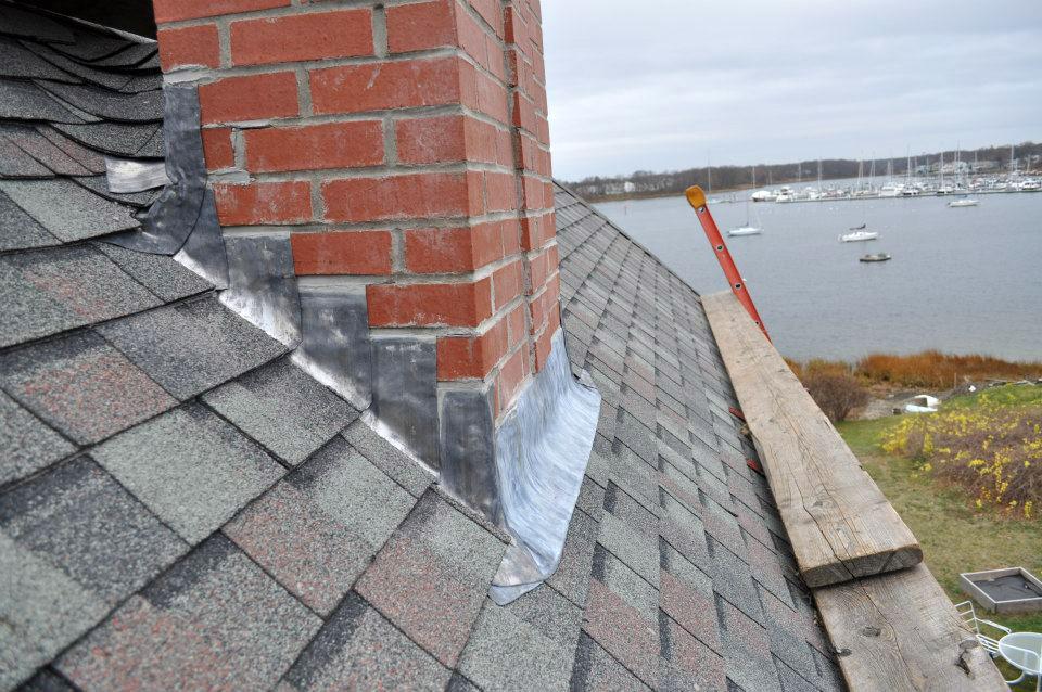 chimney flashing repair near glenrothes
